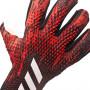 Guante Predator Pro Fingersave Black-Active red