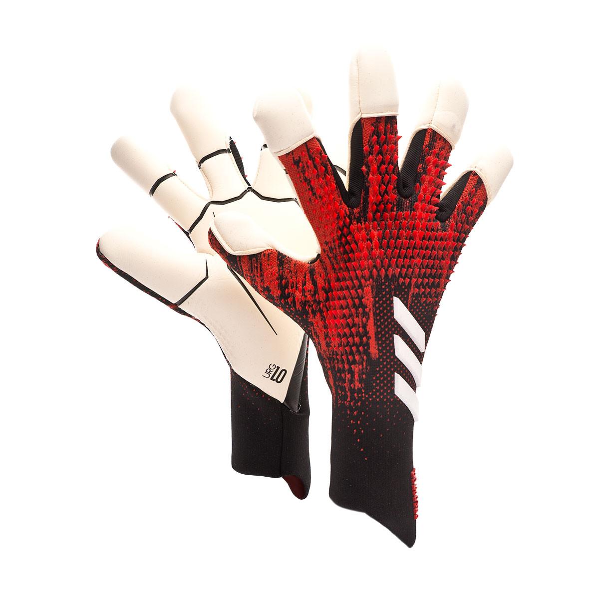 adoptar absorción curva  Guante de portero adidas Predator Pro Hybrid PC Black-Active red - Tienda  de fútbol Fútbol Emotion