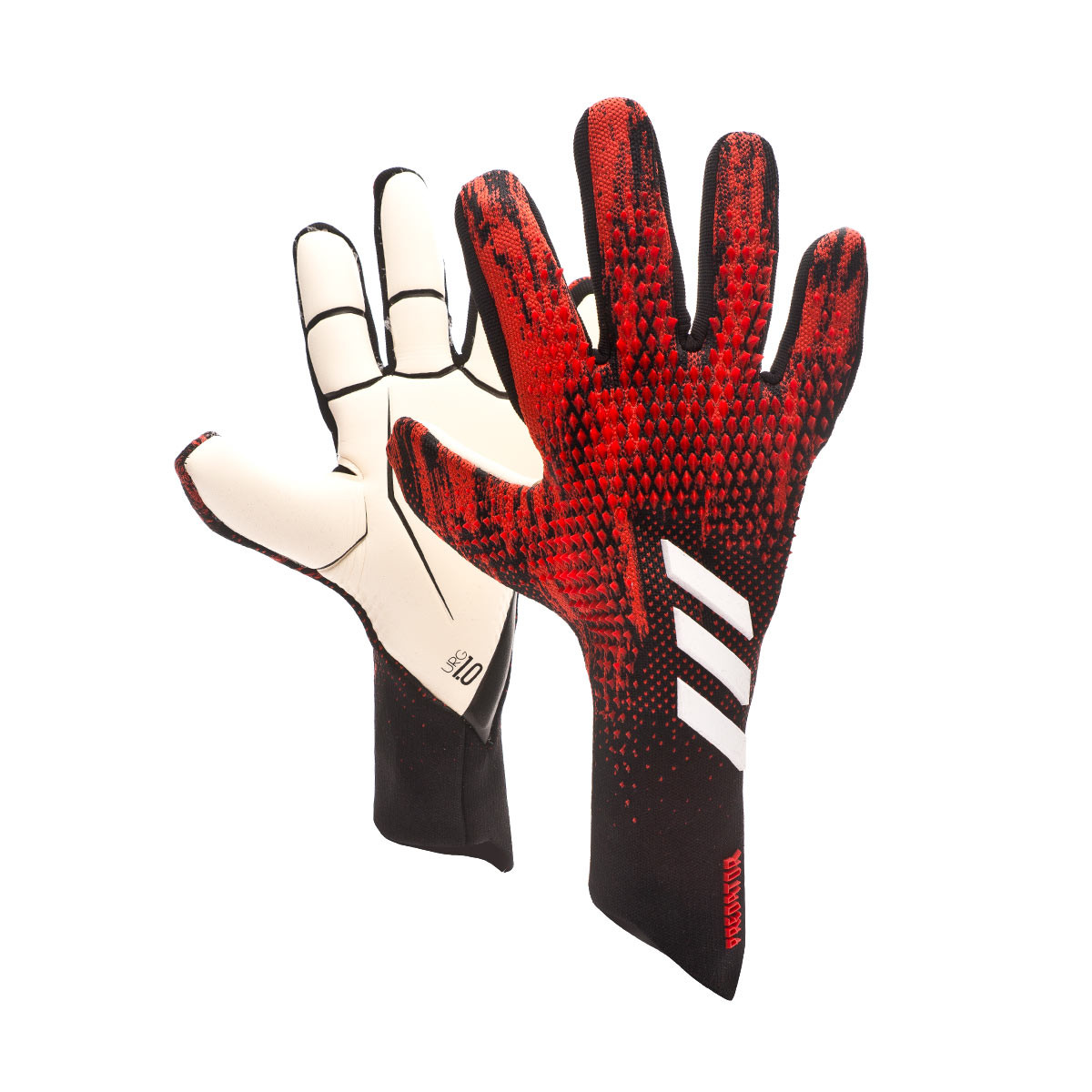 República favorito vitalidad  Guante de portero adidas Predator Pro PC Black-Active red - Tienda de  fútbol Fútbol Emotion