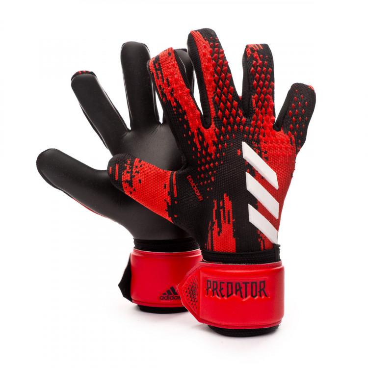 Puede ser calculado dieta salir  Glove adidas Predator League Black-Active red - Football store Fútbol  Emotion