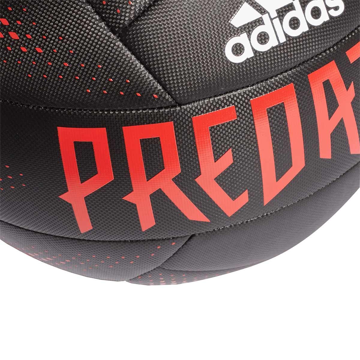 Final Prisionero buque de vapor  Ball adidas Predator Training Black-Active red-White - Football store  Fútbol Emotion