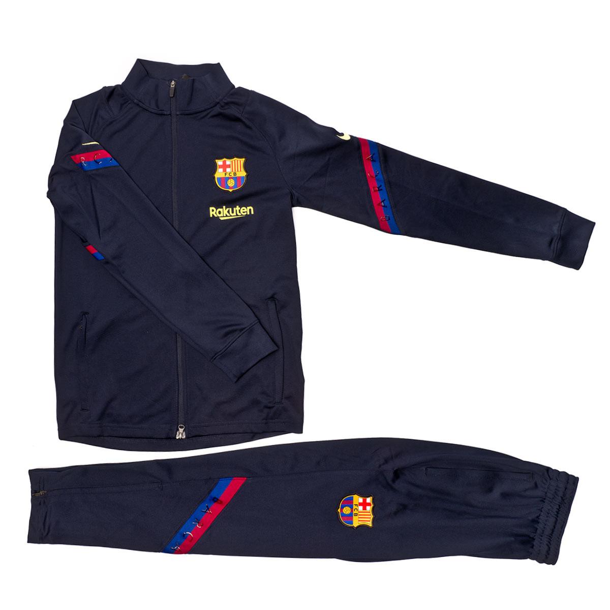 perturbación Cabecear Puro  Chándal Nike FC Barcelona Dry Strike 2019-2020 Niño Dark obsidian-Deep  royal blue - Tienda de fútbol Fútbol Emotion