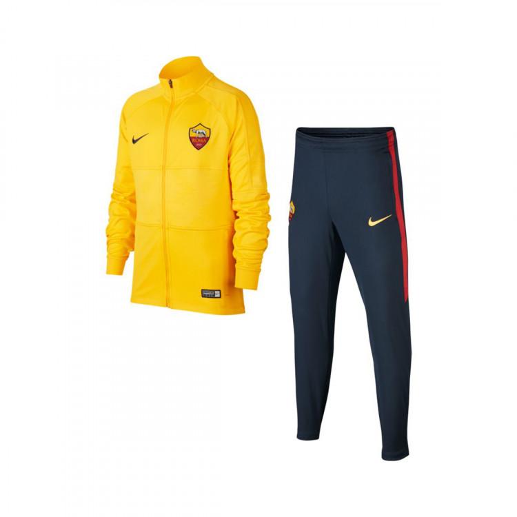 estremamente unico aliexpress vari design Tuta Nike AS Roma Dry Srike 2019-2020 Bambino University gold-Dark ...