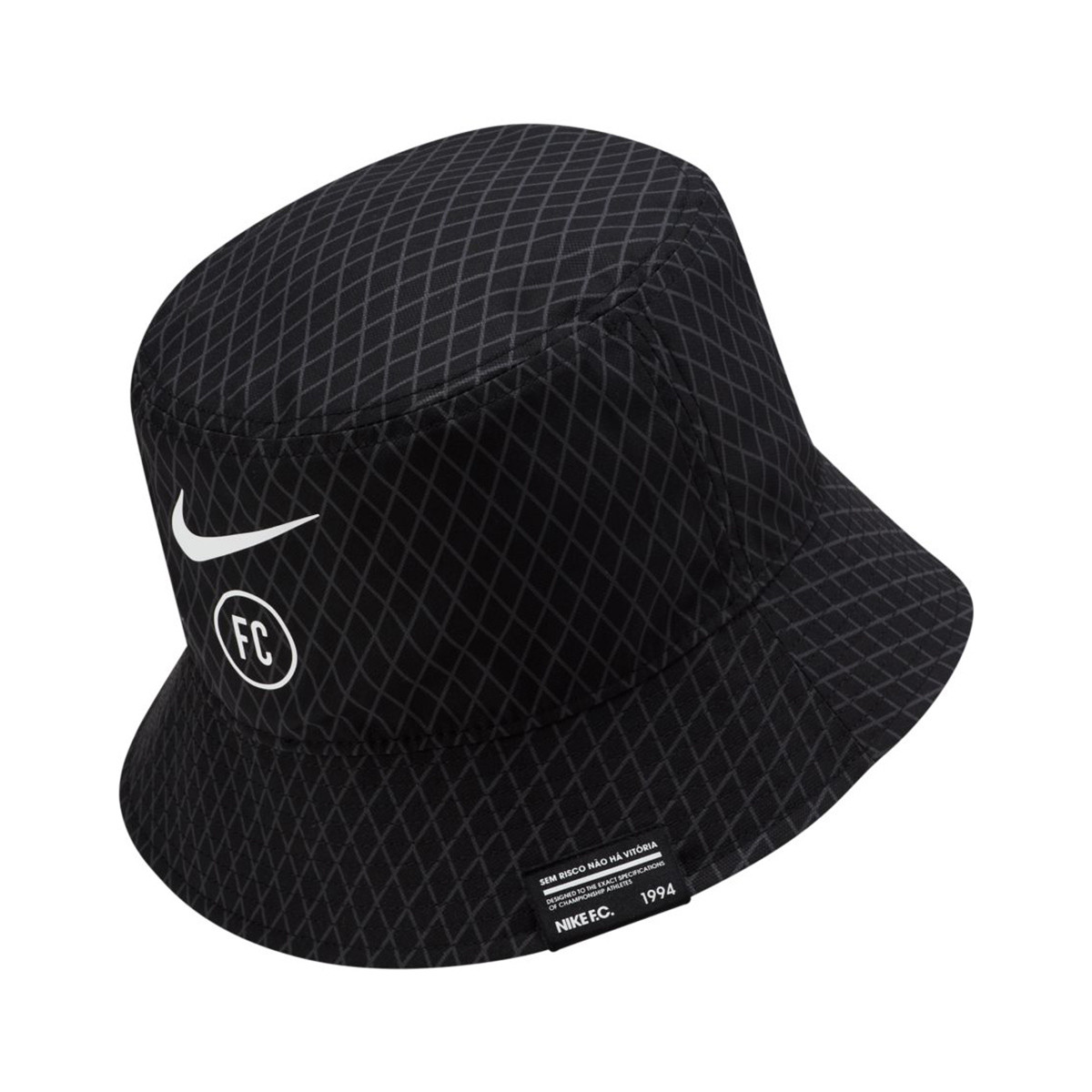 Íncubo estar impresionado Bienes  Gorro Nike NIKE F.C. Bucket Black-White - Tienda de fútbol Fútbol Emotion