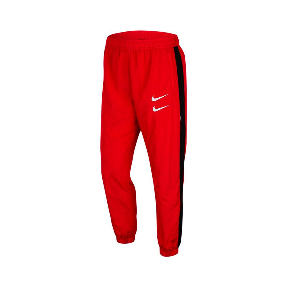 Utile freddo Merce  Pantaloni lunghi Nike Swoosh Woven University red-Black - Negozio di calcio  Fútbol Emotion