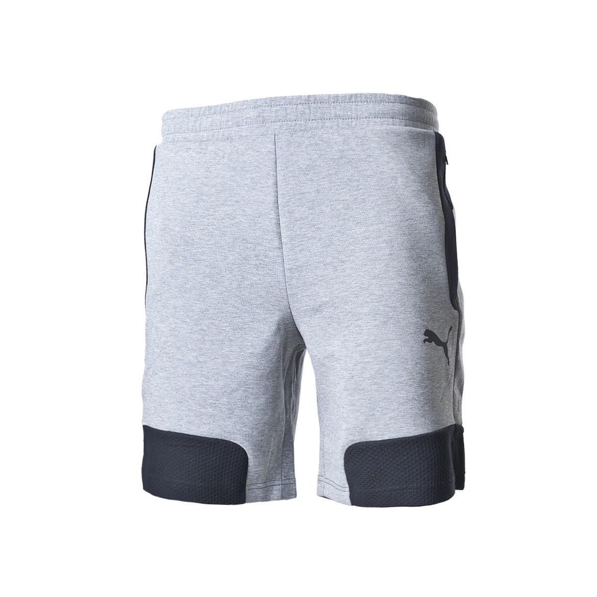 Shorts Puma EVOSTRIPE Shorts 8 Medium Gray Heather - Fútbol Emotion