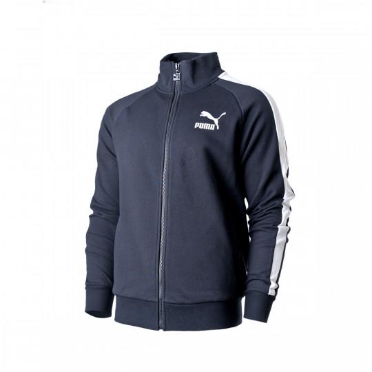Salida hacia Establecimiento Vaca  Jacket Puma Iconic T7 Track Jacket TR Puma Black - Football store Fútbol  Emotion