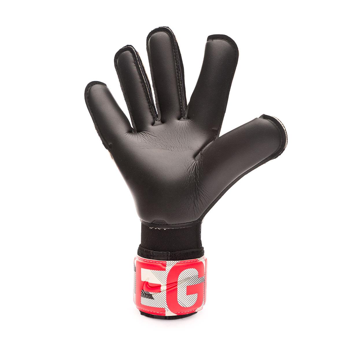 dirigir Imperio pedazo  Glove Nike Kids Vapor Grip 3 White-Black-Laser crimson - Football store  Fútbol Emotion