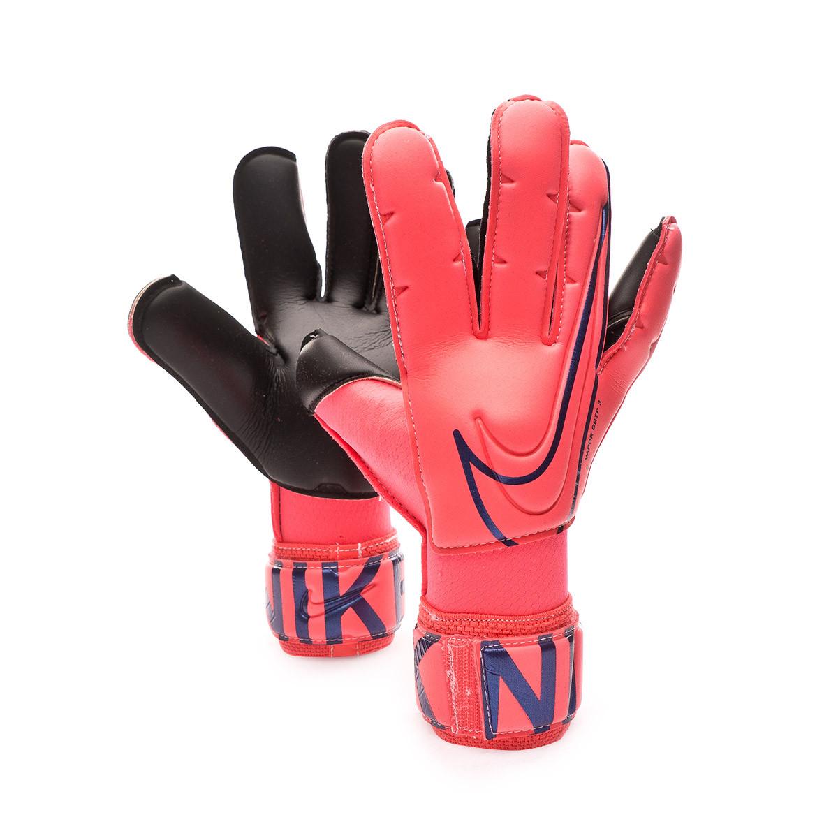 Destello logo agrio  Luvas Nike Vapor Grip3 Niño Laser crimson-Black - Loja de futebol Fútbol  Emotion