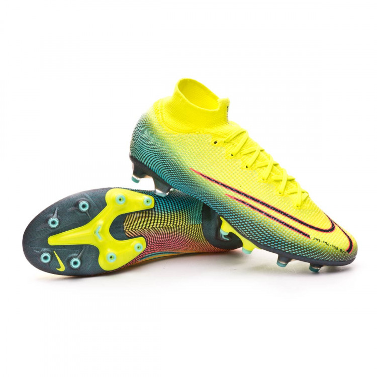 obtener Lujo temporal  Football Boots Nike Mercurial Superfly VII Elite MDS 2 AG-PRO Lemon  venom-Black-Aurora green - Football store Fútbol Emotion