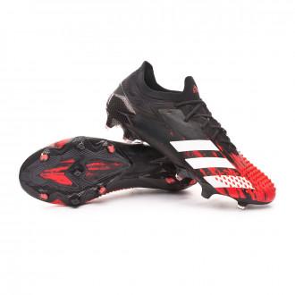 Predator 20.1 Low FG Core black-White-Active red