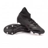 Bota Predator 20.3 SG Core black-Solid grey