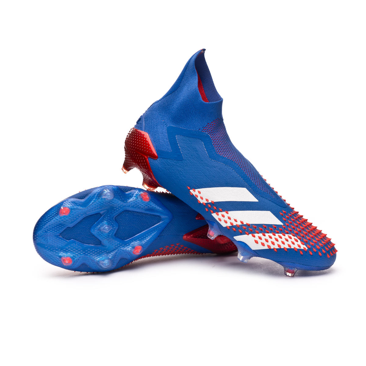 Privación humor antiguo  Football Boots adidas Predator 20+ FG Team royal blue-White-Active red -  Football store Fútbol Emotion