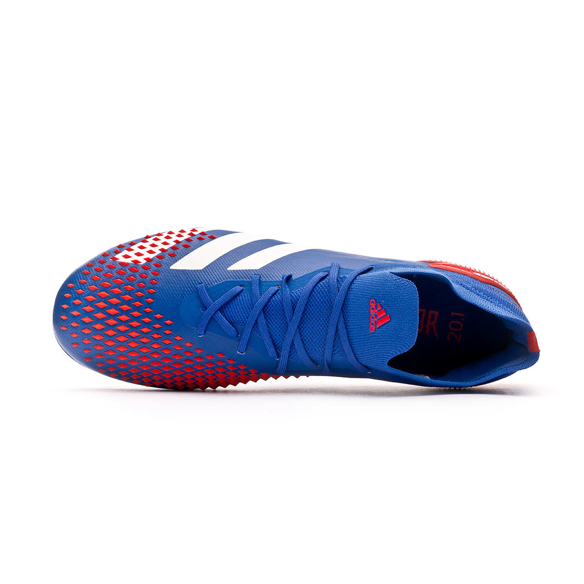 veneno Porque Hermano  Football Boots adidas Predator 20.1 Low FG Team royal blue-White-Active red  - Football store Fútbol Emotion