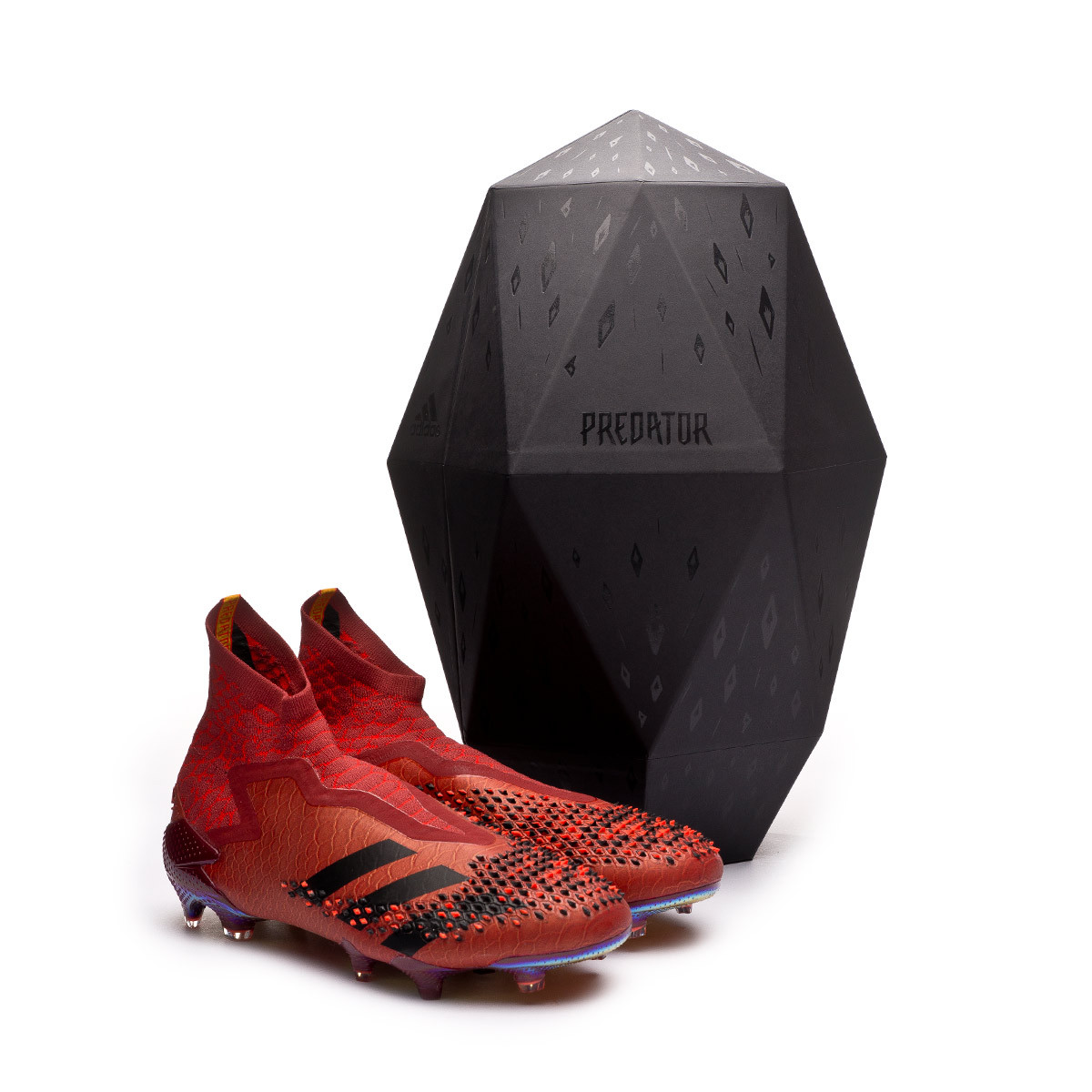 réplica arpón pérdida  Football Boots adidas Predator 20+ FG Animalistic Collegiate burgundy-Core  black-Solar red - Football store Fútbol Emotion