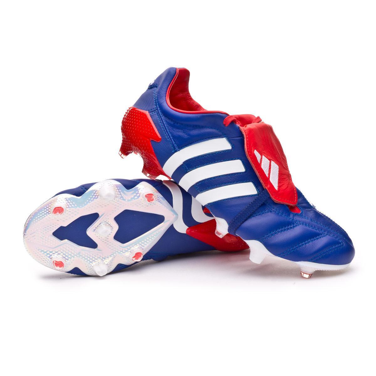 sentido común hambruna Susurro  Zapatos de fútbol adidas Predator Mania FG Japan blue-Red-White - Tienda de  fútbol Fútbol Emotion