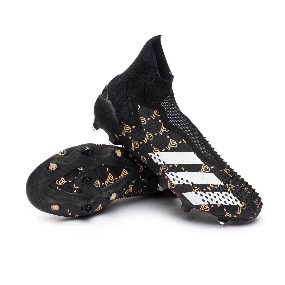 Resonar servilleta Escabullirse  Zapatos de fútbol adidas Predator 20+ Paul Pogba FG Core black-White-Gold  metallic - Tienda de fútbol Fútbol Emotion