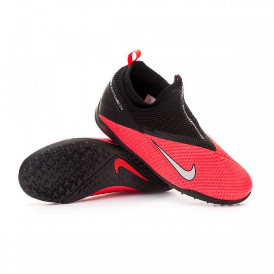 Facultad celebrar inventar  Zapatilla Nike Phantom Vision II Academy DF Turf Niño Laser  crimson-Metallic silver-Black - Tienda de fútbol Fútbol Emotion