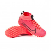 Zapatilla Mercurial Superfly VII Academy Turf Niño Laser crimson-Black