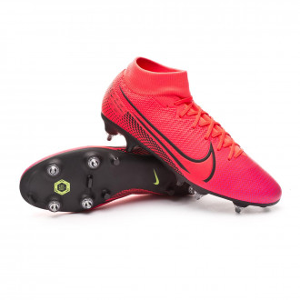 Mercurial Superfly VII Academy SG-PRO Anti-Clog Traction Laser crimson-Black