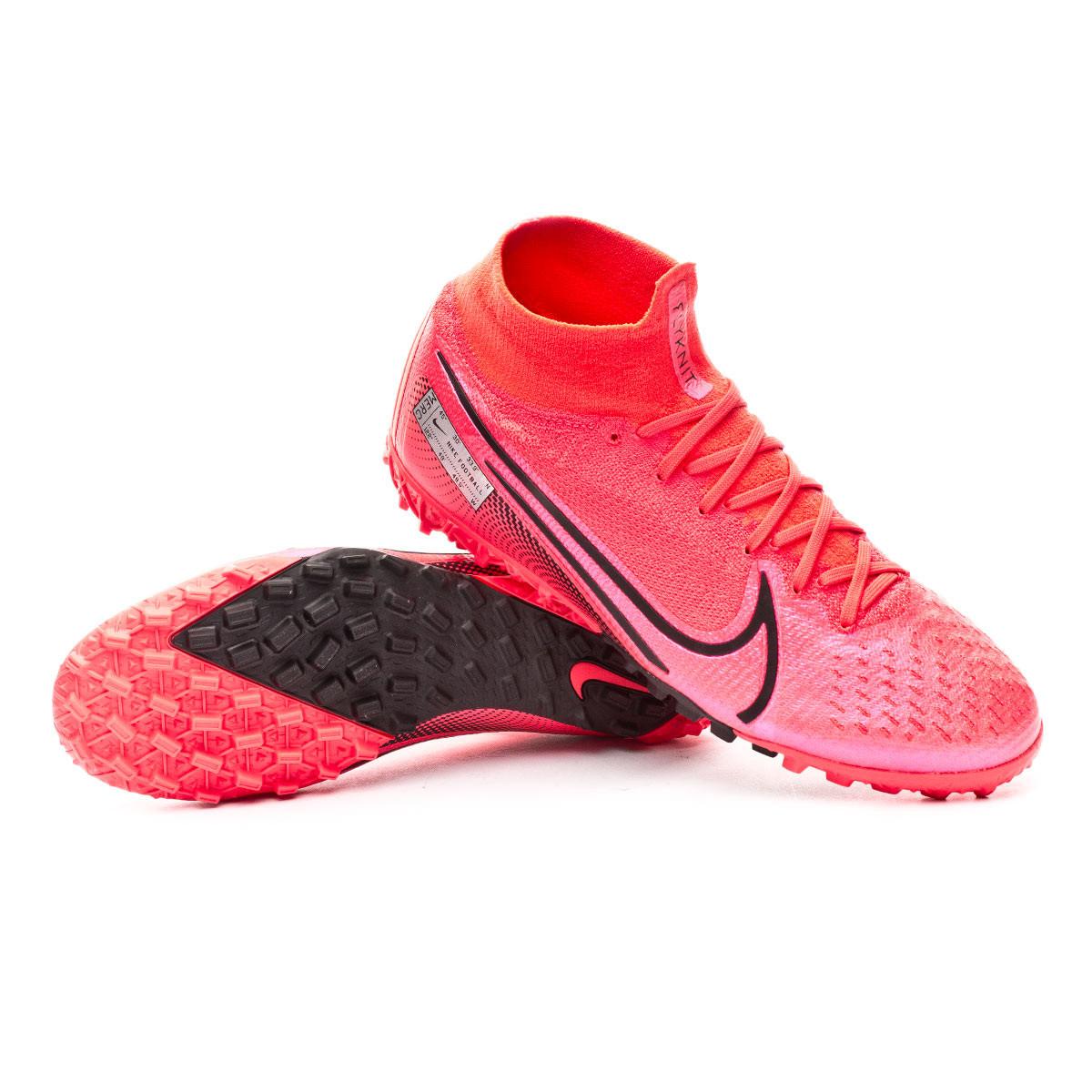 Asistir Feudo tumor  Football Boot Nike Mercurial Superfly VII Elite Turf Laser crimson-Black -  Football store Fútbol Emotion