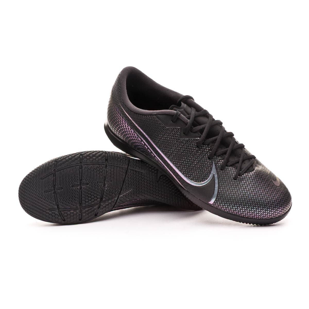 cache presión Etapa  Futsal Boot Nike Mercurial Vapor XIII Academy IC Black - Football store  Fútbol Emotion