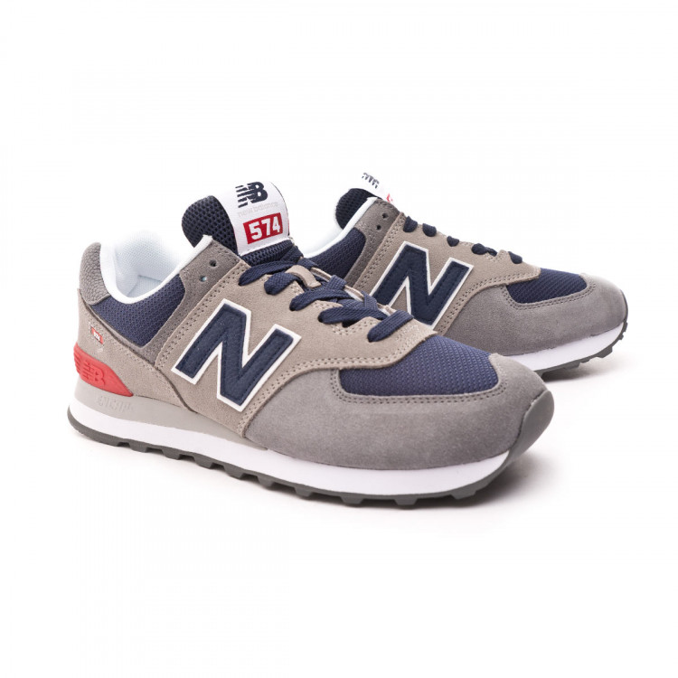 receta parálisis Oral  Trainers New Balance 574 v2 Classic Grey-Navy - Football store Fútbol  Emotion