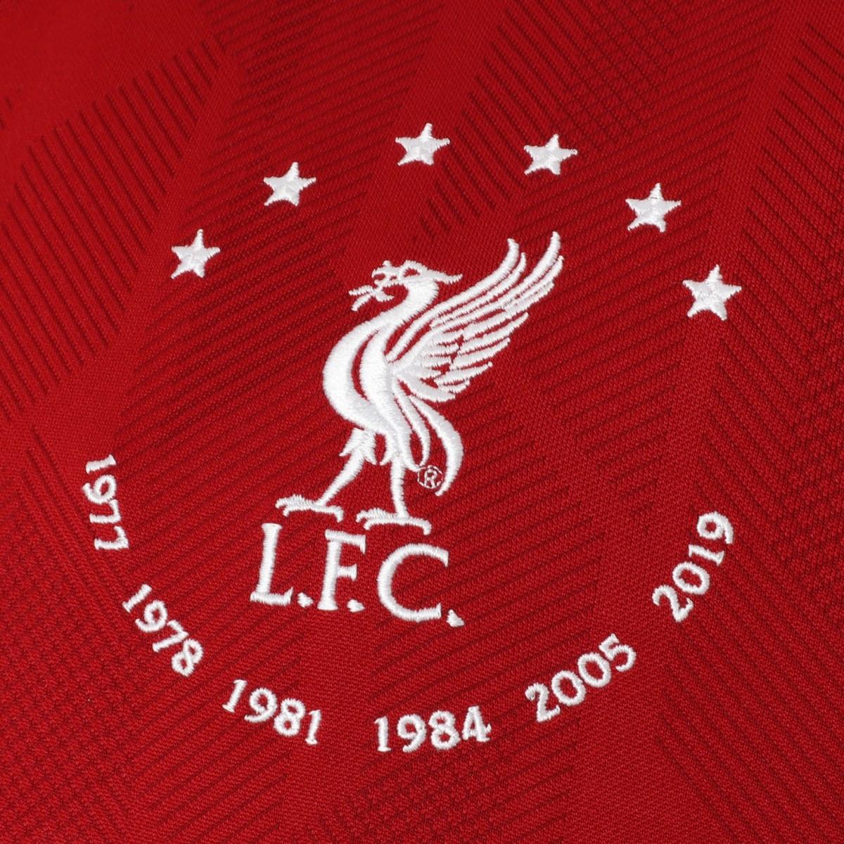 imagen salchicha graduado  Camiseta New Balance Liverpool FC Primera Equipación Ed Signature 2019-2020  Niño Red - Tienda de fútbol Fútbol Emotion