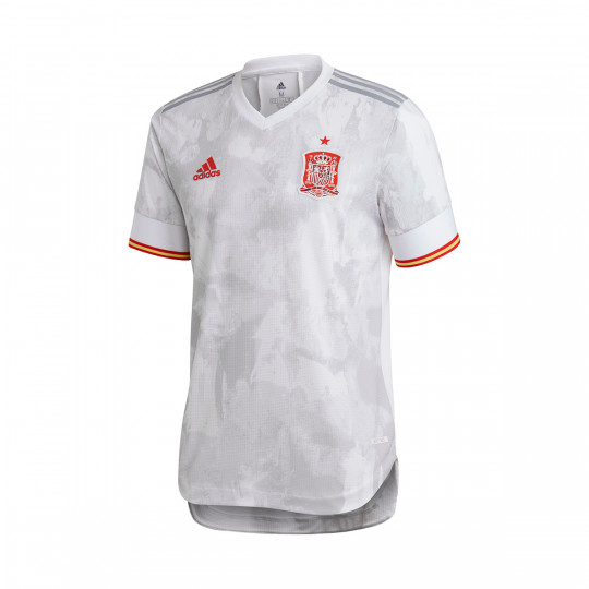 Jersey adidas Spain Authentic Away Jersey 2020-2021 White-Light onix