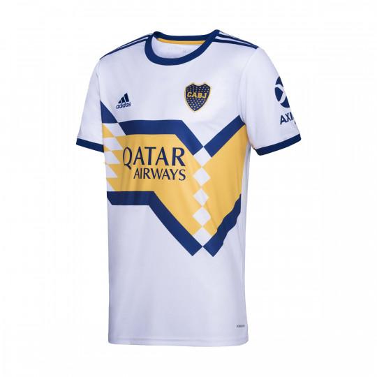 Jersey adidas Boca Juniors Segunda Equipación 2019-2020 White-Yellow-Dark marine