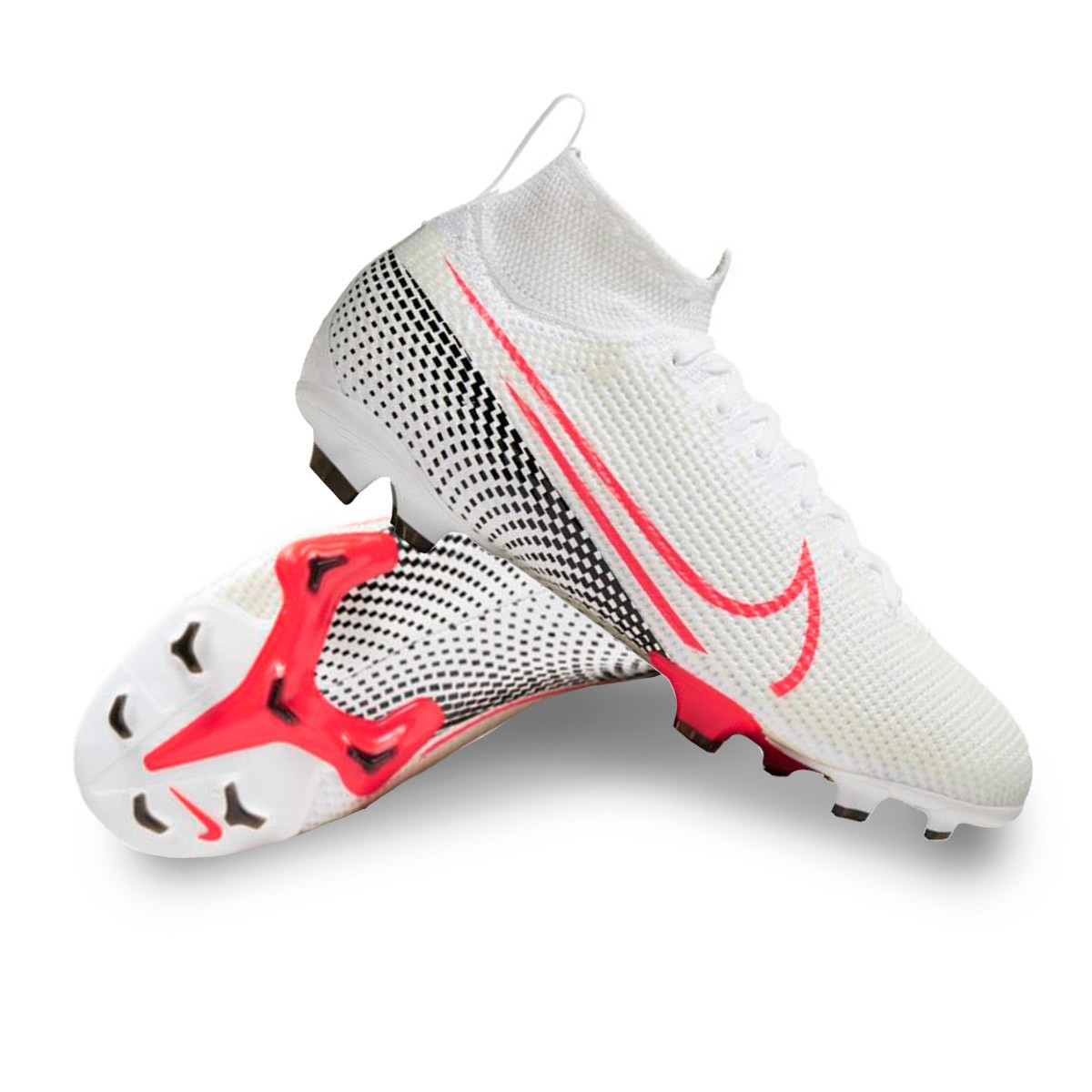 contar hasta neumático Ennegrecer  Football Boots Nike Kids Mercurial Superfly VII Elite FG White ...