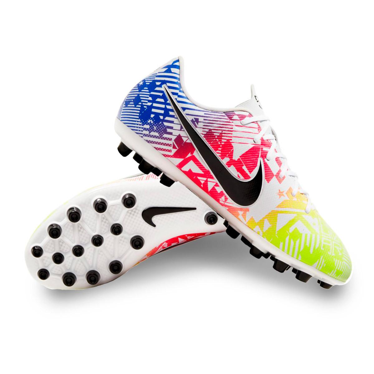Chaussure de foot Nike Mercurial Vapor XIII Academy Neymar Jr AG Niño