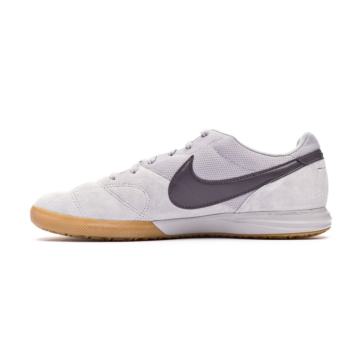 gravedad vacante Opinión  Futsal Boot Nike Tiempo Premier II Sala IC Light smoke grey-Thunder  grey-Gum light brown - Football store Fútbol Emotion