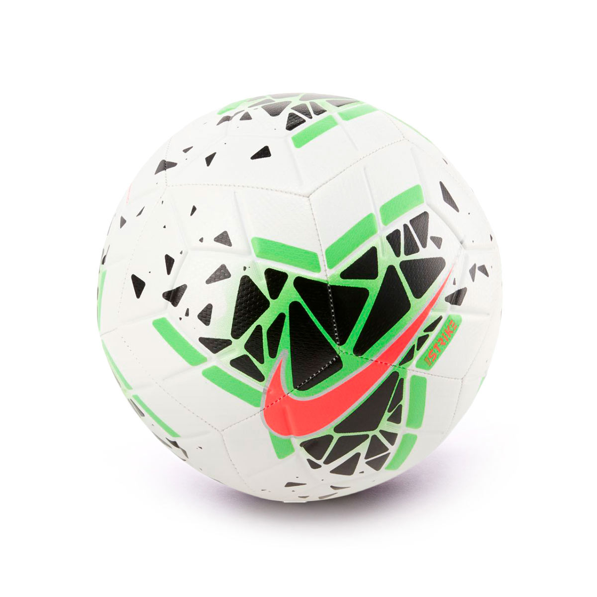 Ball Nike Strike 2020 2021 White Black Green Strike Laser Crimson Fútbol Emotion