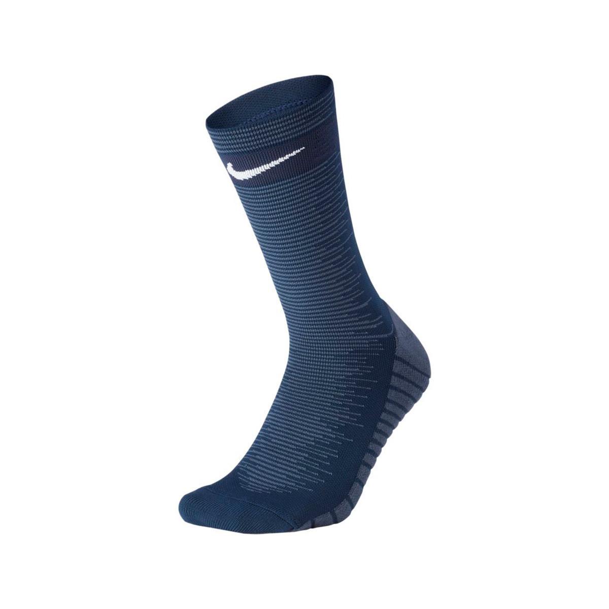 buscar original Tener cuidado de selección mundial de Socks Nike Squad Crew Midnight navy-White - Football store Fútbol ...