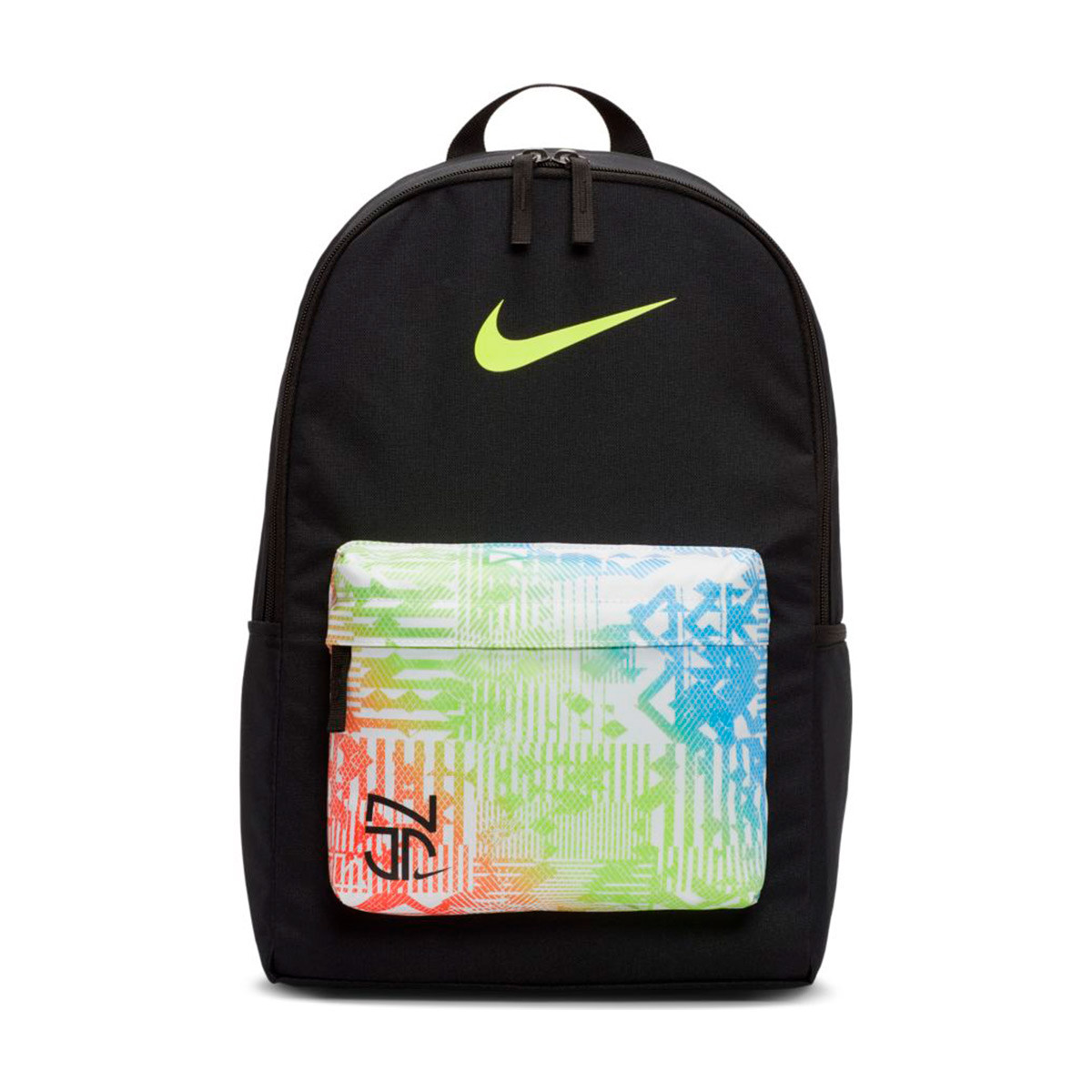 Composición Vacío Llave  Backpack Nike Kids Neymar Jr Black-Volt - Football store Fútbol Emotion