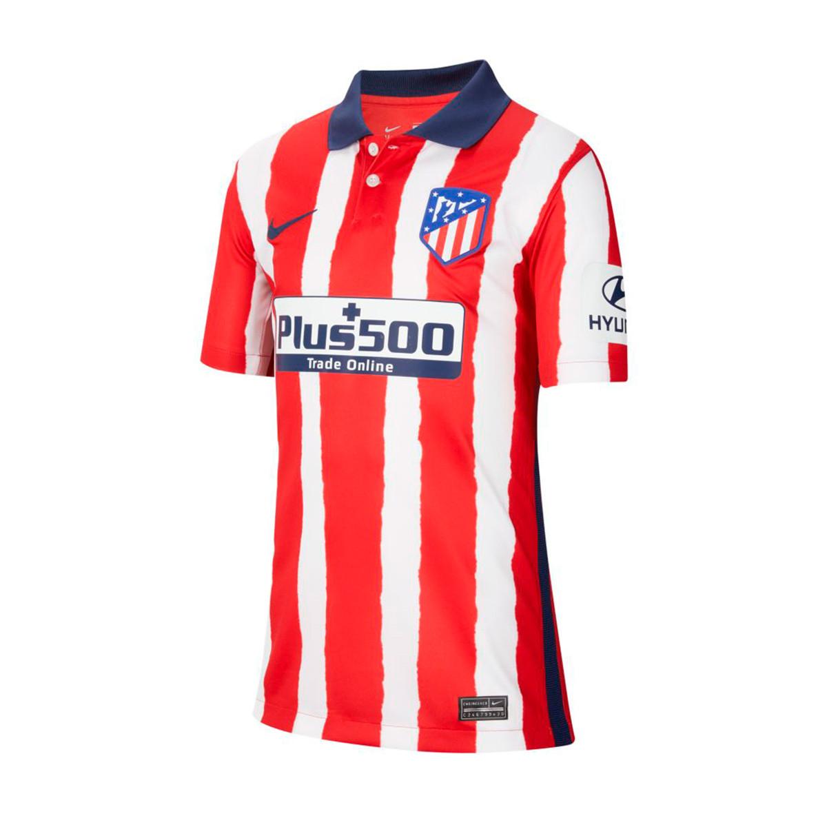 reunirse total Descriptivo  Camiseta Nike Atlético de Madrid Stadium Primera Equipación 2020-2021 Niño  Sport red-Midnight navy - Tienda de fútbol Fútbol Emotion
