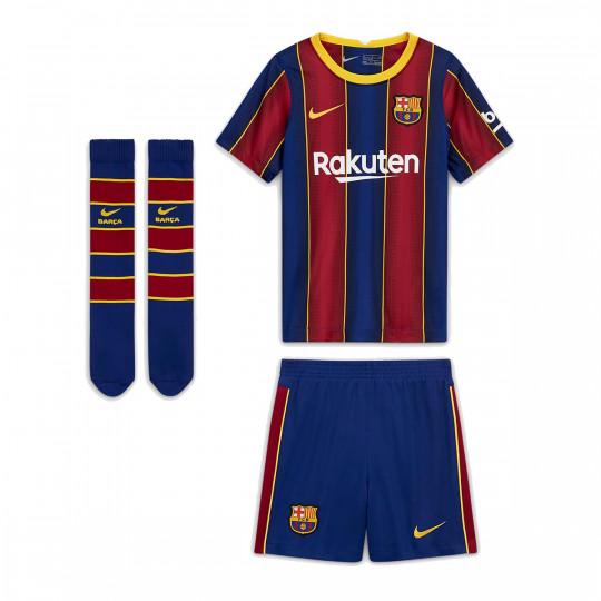 Kit Nike FC Barcelona Primera Equipación 2020-2021 Niño ...