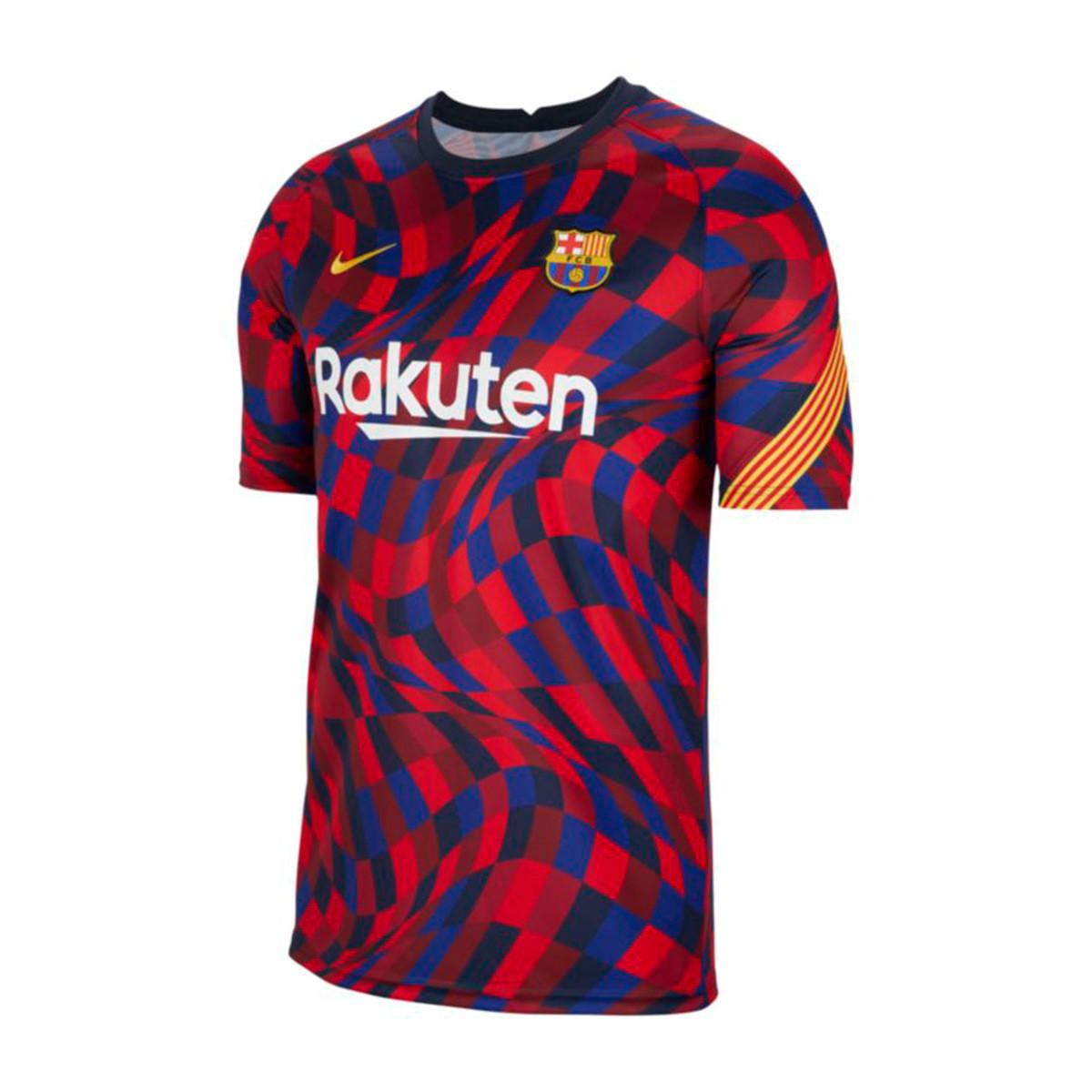 Maglia Nike FC Barcelona Pre Match Top 2020-2021