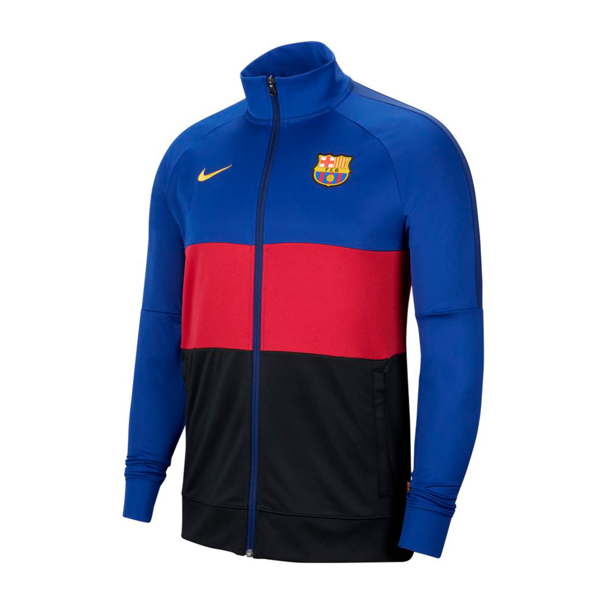 sonido director deberes  Chamarra Nike FC Barcelona I96 Anthem 2020-2021 Deep royal blue-Noble red -  Tienda de fútbol Fútbol Emotion