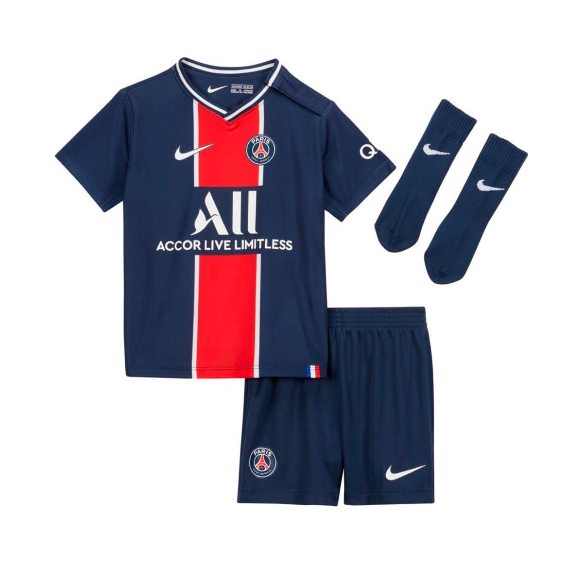 Completo Nike Paris Saint-Germain Primera Equipación 2020-2021 Bebé
