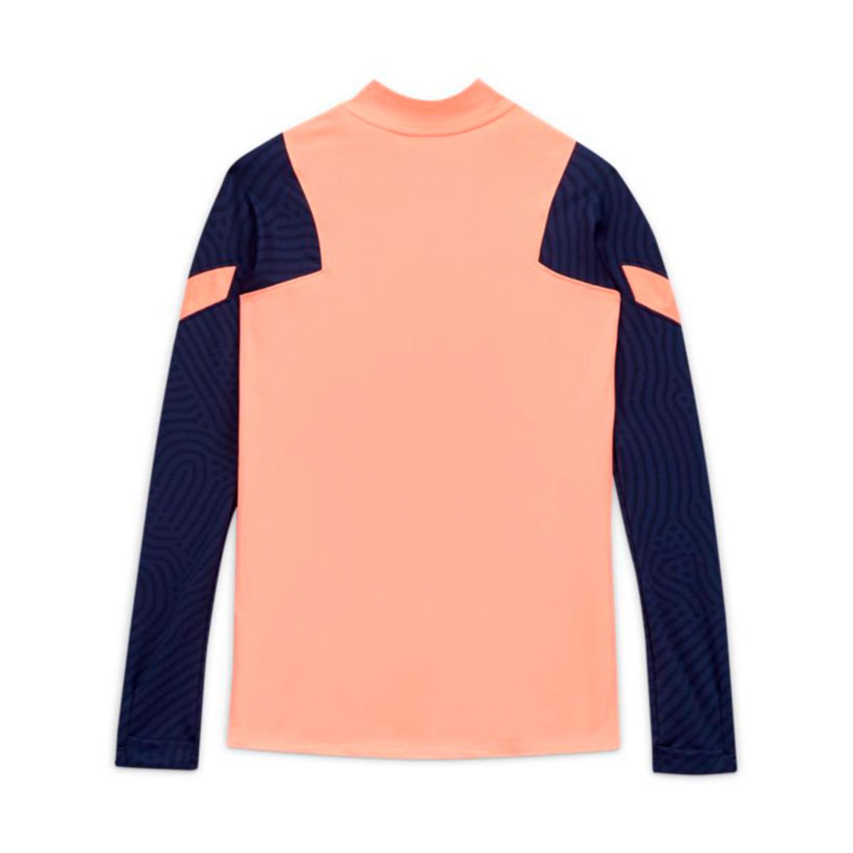 Sweatshirt Nike Tottenham Hotspur Fc Dri Fit Strike Dril Top 2020 2021 Nino Lava Glow Binary Blue Football Store Futbol Emotion