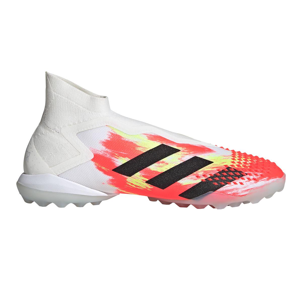 Melodrama Elevado pegar  Football Boots adidas Predator 20+ Turf White-Black-Pop - Football store  Fútbol Emotion