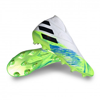 Nemeziz 19+ FG White-Black-Signal green
