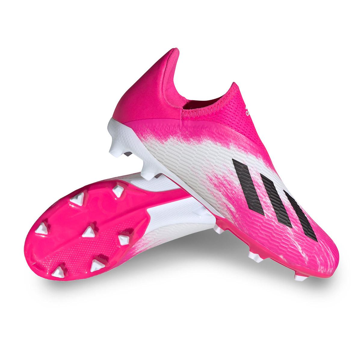 embargo Inconsciente al exilio  Football Boots adidas X 19.3 LL FG Kids White-Black-Shock pink - Football  store Fútbol Emotion