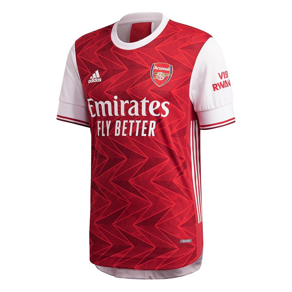 Jersey adidas Arsenal FC Authentic Primera Equipación 2020 ...