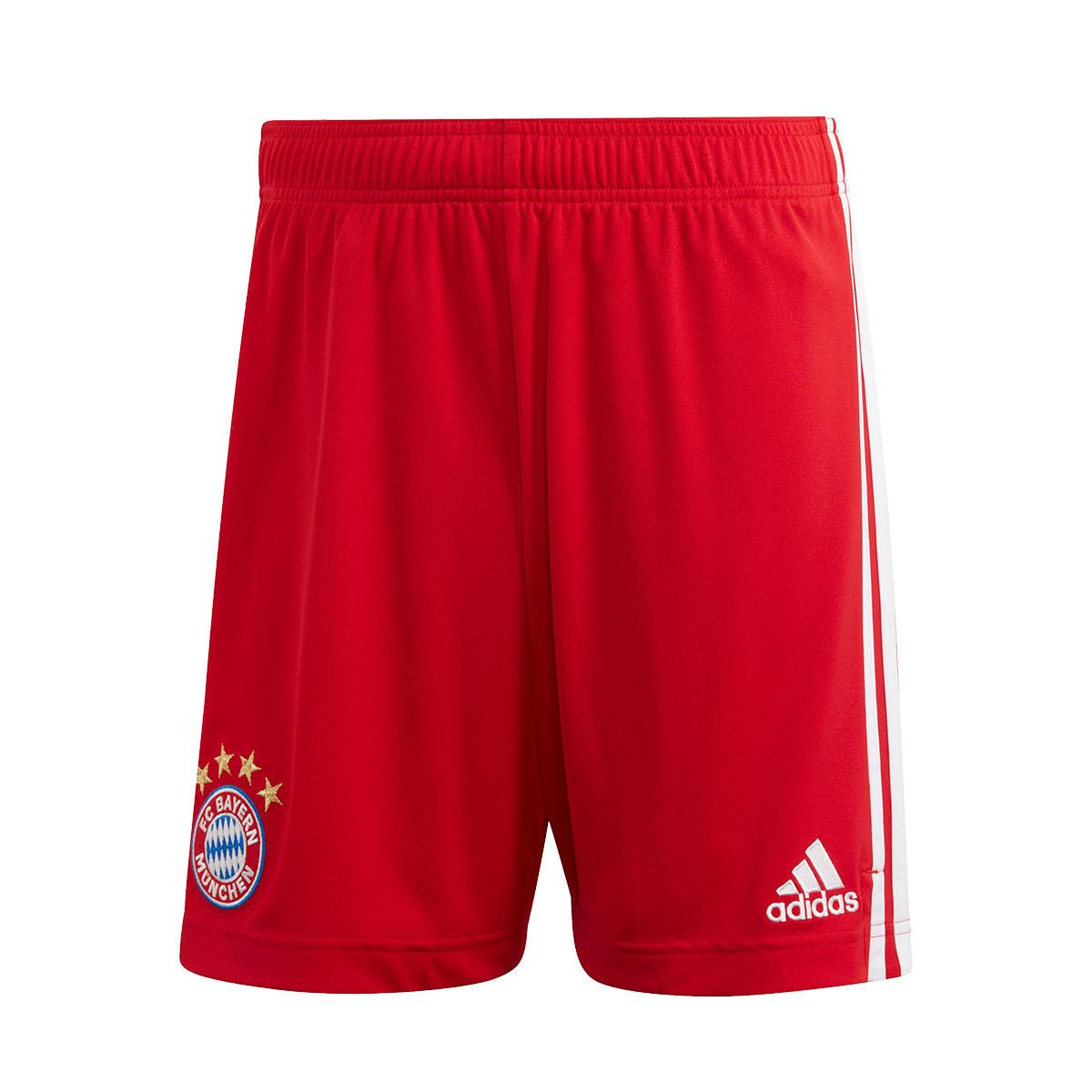 Incomodidad maquillaje Deportes  Pantalón corto adidas FC Bayern Munich Primera Equipación 2020-2021 True  red - Tienda de fútbol Fútbol Emotion
