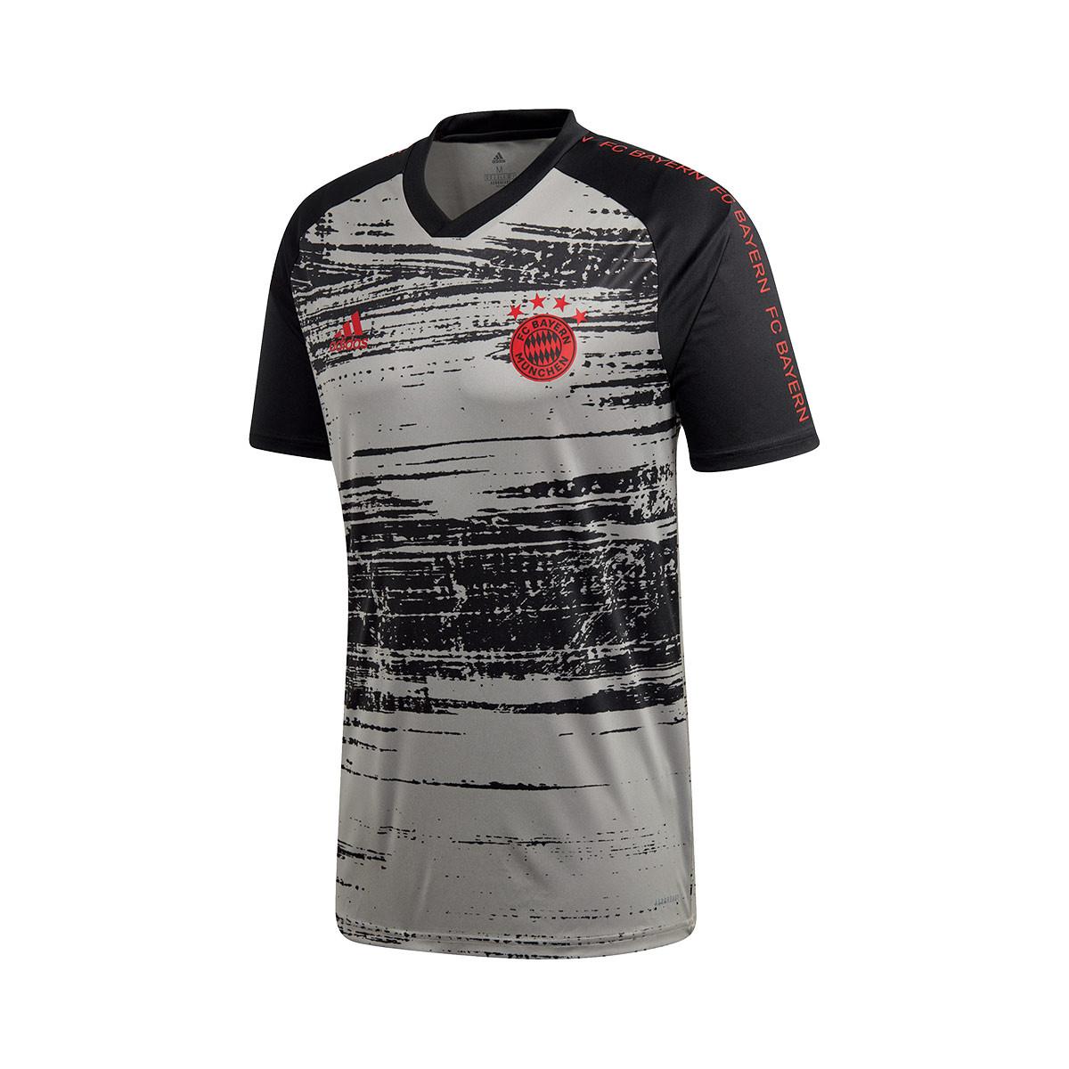 Enredo Christchurch Fanático  Jersey adidas FC Bayern Munich Pre Match 2020-2021 Dove grey-Black -  Football store Fútbol Emotion