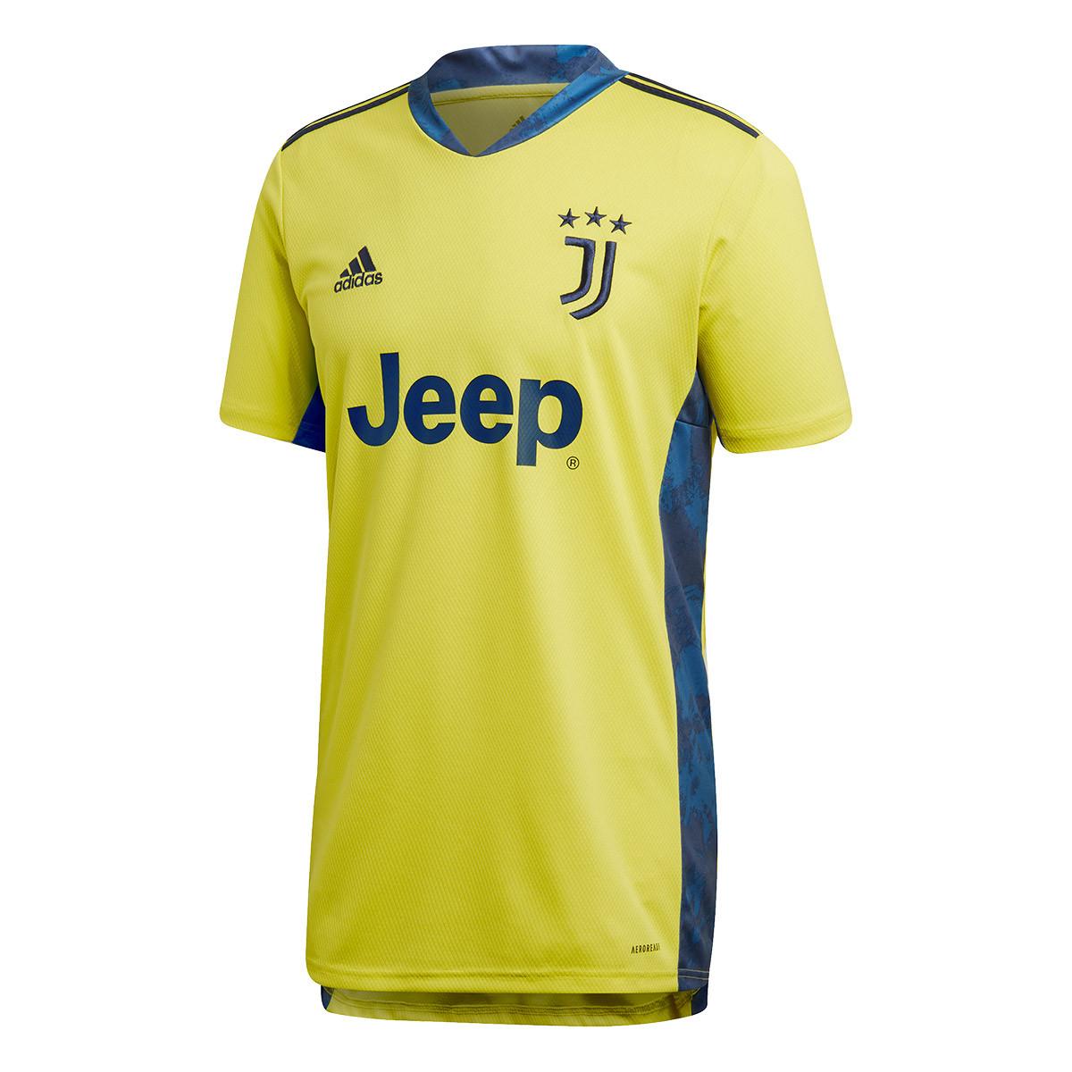Jersey Adidas Juventus Portero Primera Equipacion 2020 2021 Shock Yellow Team Navy Blue Football Store Futbol Emotion