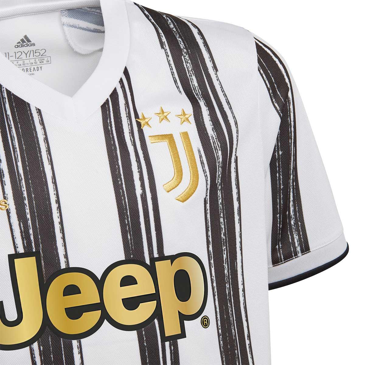 adidas Kids Juventus Home Jersey 2020-2021 Jersey